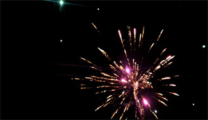 Prestations Feux d'artifice Mariage Magic Night